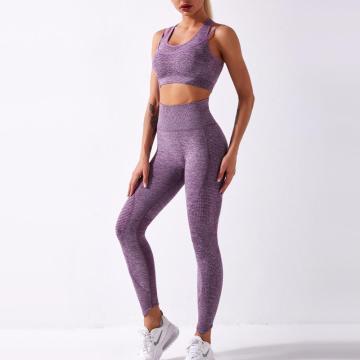 Gym Wear Women Seamless Yoga Set