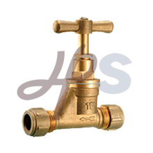 brass compression stop valve
