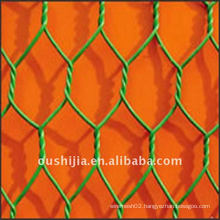 PVC coated hexagonal twist nets(manufacture)