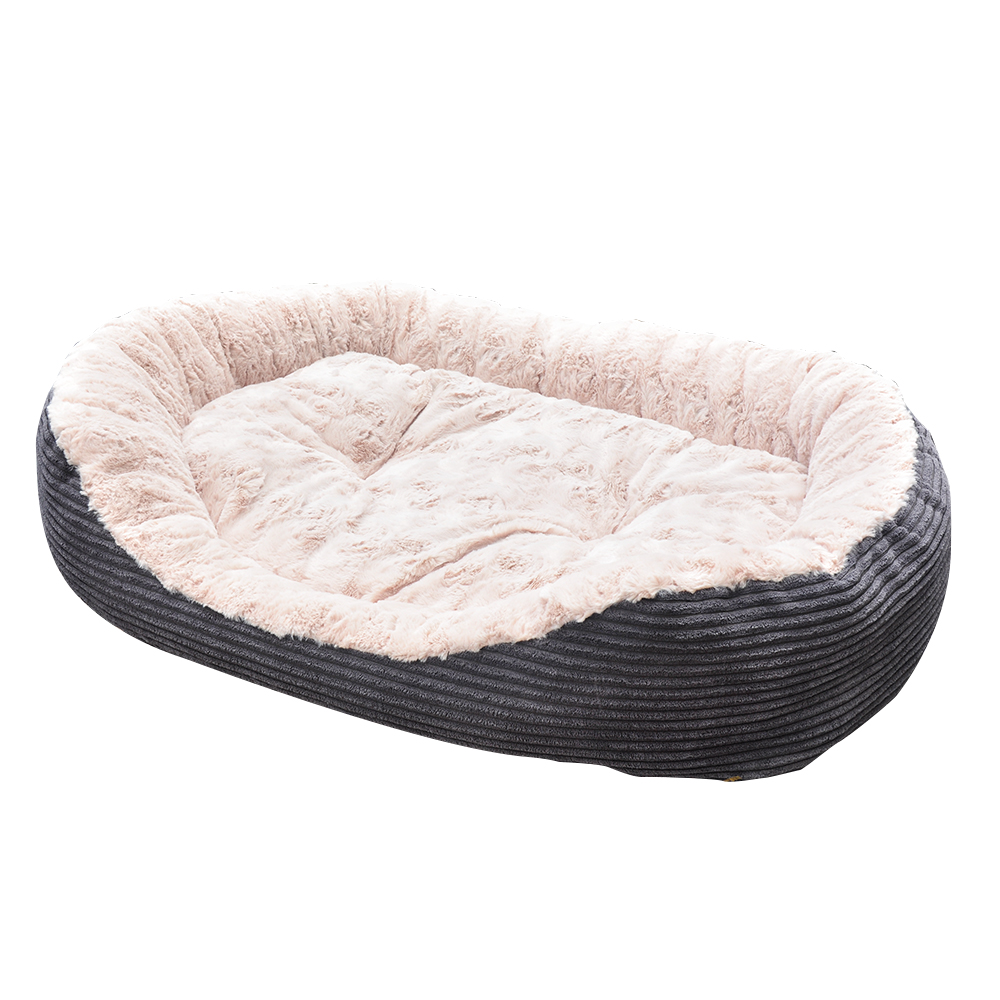 Pet Bed - Lounger Plush Cord 3