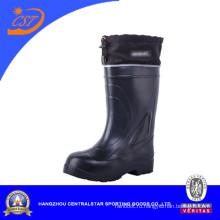 Черный легкий Мужской ботинок Ева 1103