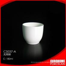 restaurante de 180ml usar taza de vajilla de porcelana fina
