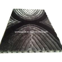 Poliéster Modern Tapetes Shaggy com efeitos 3D