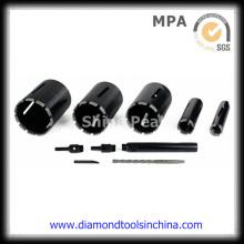 Concreto Diamond Core brocas para mármore para betão