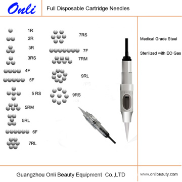 Aiguilles de maquillage permanente jetables à usage unique Onli, aiguille à cartouche numérique