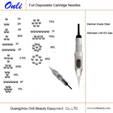 Onli Safety Одноразовая перманентная макияж, иглы для цифровых картриджей