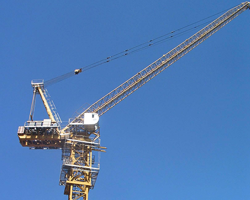 Tower crane machinery