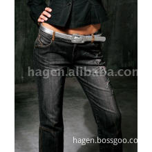 ladies' fashionable jeans trousers with