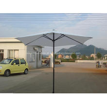 Pátio do poliéster impermeável sol direto mercado guarda-chuva