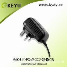 SAA approval for AU 12W 15V 800ma cctv system 15v power supply