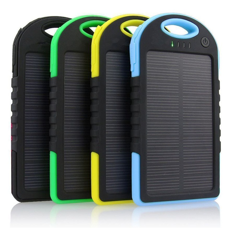 Waterproof Solar Power Bank Mobile Solar Charger