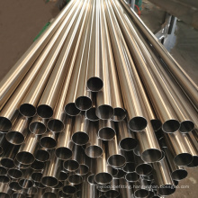 Top Supplier Welded Polished Color Stainless Steel Pipe Sus 201 304 316  6K 8K Stainless Steel Gold Colour Pipe
