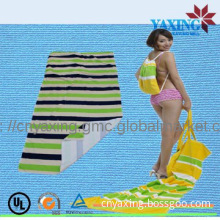 2014 Backpack beach towel bag pattern 100% polyester reactive printing