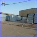 Heavy duty galvanized traffic road safety pedestrian crowd control barriers
