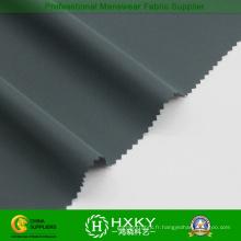 Tissu en nylon de Spandex 4-Way avec le sergé pour la tranchée de mode