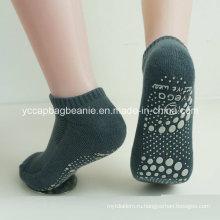 Хлопок Anti Slip Крытый йога носки