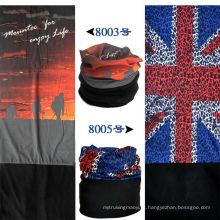 Lingshang Promocional lenço multifuncional 2014 velo acessórios fogo impressão polar fleece multifuncional bandana