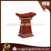 Commercial antique Digital cheap wooden lectern for speech