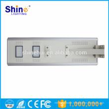Indução solar do sensor de movimento do pv 60w conduziu a luz de rua solar luz solar integrada preço da luz