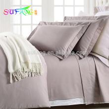 Lençol 1000TC fio contagem folha de cama de hotel de algodão egípcio