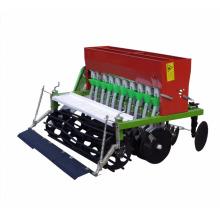 Maquinaria agrícola 9 filas tractor montado máquina de sembradora de trigo sembradora