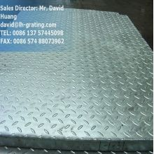 Galvanized Compund Steel Grating with Checker Plates
