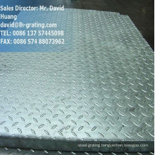 Galvanized Composite Steel Grating with Checker Plate