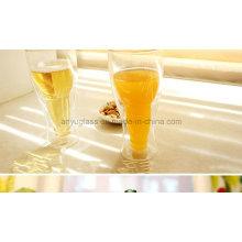 Modische Bar Drinkware Creative Upside Clear Bierglas Cup