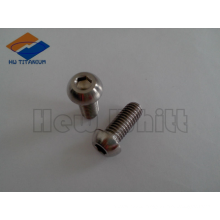 high strength titanium button bolt M8*20