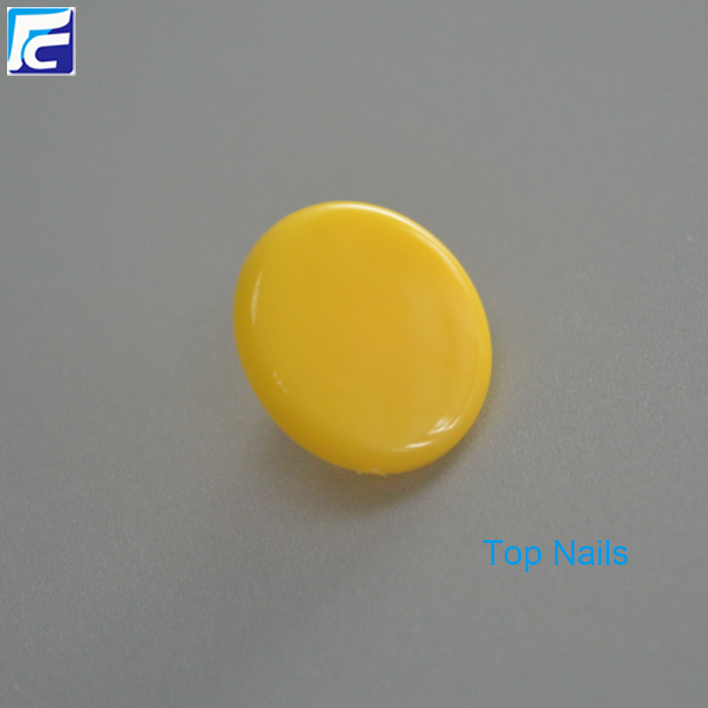 Colorful Plastic Clothing Custom Plastic Snap Button