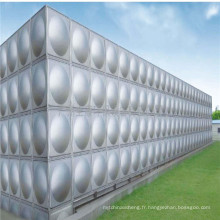 Acier inoxydable installé 200, 250, réservoir d'eau en acier de réservoir de l'eau usagée de 300 litres