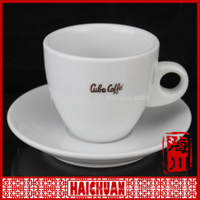 Wholesale white tea cup and saucer