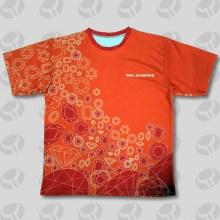 Kundenspezifisches Schirm-Druck-T-Shirt