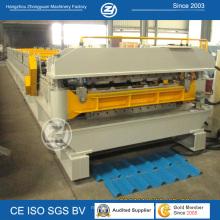 Os perfis dobro do certificado do CE do ISO laminam formando a máquina