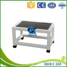 Steel frame patient use metal step stool