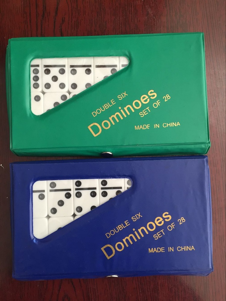 ivory color dominoes with spinner
