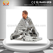 High Quality Marathon Blankets, aluminized mylar emergency blankets