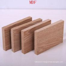 Planche de MDF simple avec la bonne qualité