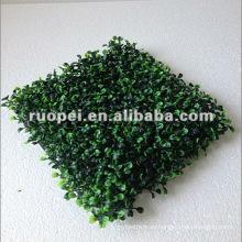 estera artificial de la hierba del topiary del boj