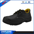 Simple Classic Embossed Leather Uppper Safety Shoes Ufb55.1