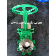 Stainless Steel Worm Gear Knife Gate Valve (WDS)