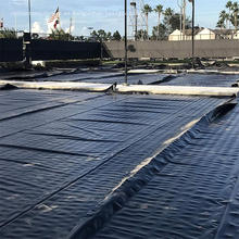 Revestimiento de presa de ceniza de carbón / geomembrana de HDPE