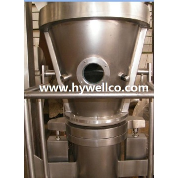 Mesin Partikel Kapsul Fluidized Bed Granulating