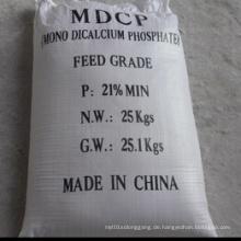 Weißes Pulver 21% Mono Dicalcium Phosphat (MDCP) für Futter