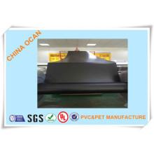Offset-Druck Schwarz Matt Kunststoff PVC-Blatt