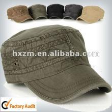 Chapeau de cadet de chapeau militaire lavé