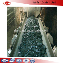 DHT-150 Flame resistant rubber belts fire resistant belts for export