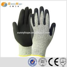 Gants coupés gants de travail anti-coupe gants anti-coupe gants de sécurité