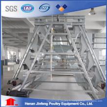 Cage de ferme automatique bon marché pour les oiseaux de poulet de couche de Chine