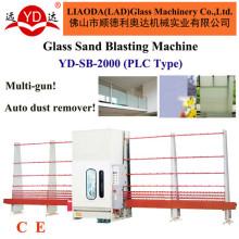 para a máquina de processamento de vidro da venda quente da tela de vidro que limpa com jato de areia